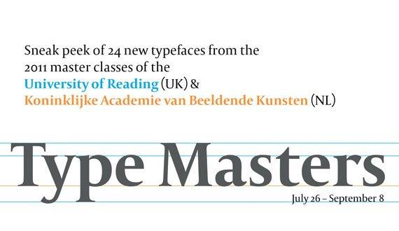 Type Masters